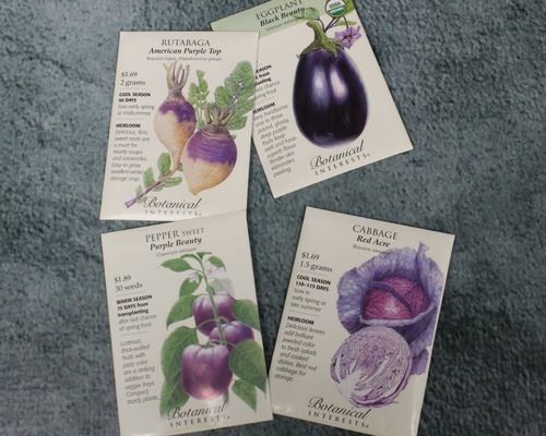 English Gardens Carries Botanical Interests Seed Packets To Get A Head Start On Your Spring Garden