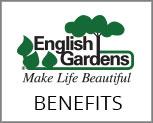 English Gardens Benefit Information