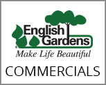 See the latest English Gardens Commercials