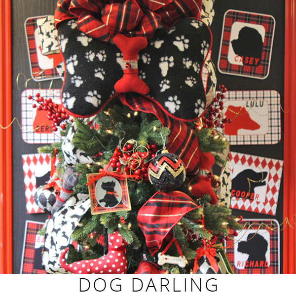 Theme Trees dog darling