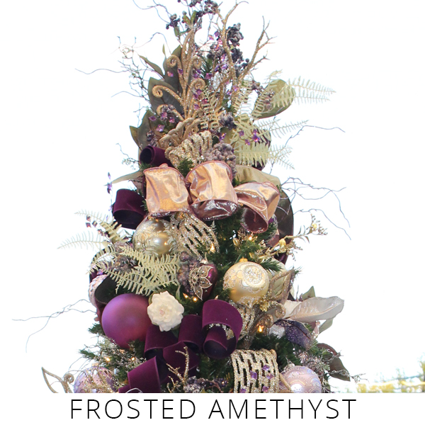 Theme Trees frosted amethyst