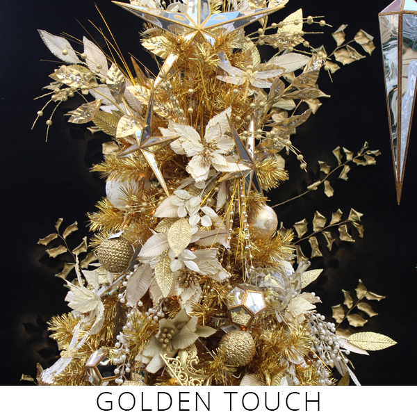 Theme Trees golden touch