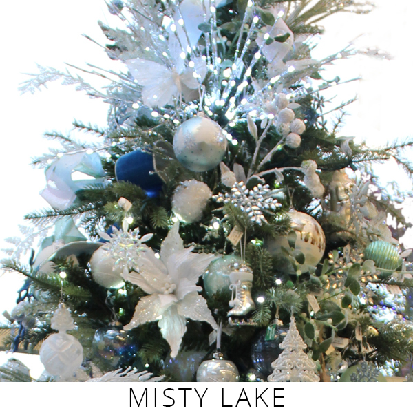 Theme Trees misty lake