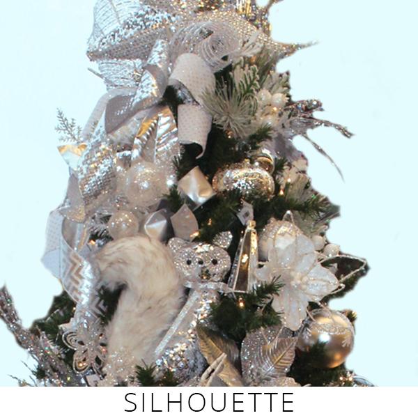 Theme Trees silhouette