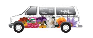 English Garden Van