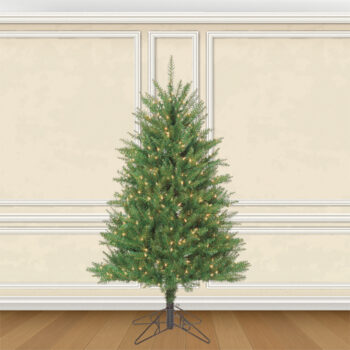 Douglas Fir Life-like Artificial Christmas Trees Pre-lit with Sure Lit Lights
