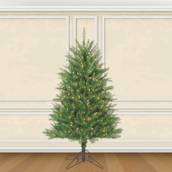 Douglas Fir Life-like Artificial Christmas Trees Pre-lit with Sure Lit Lights