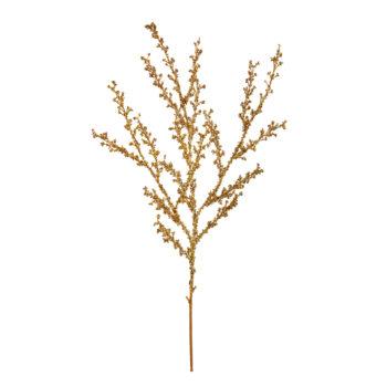 Glitter Gold Twig Spray