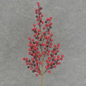 Burgundy Berry Branch