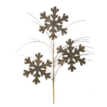 Glitter Snowflake Spray