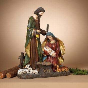 Lighted Nativity