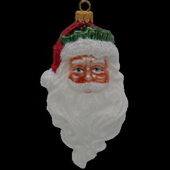 Classic Santa with Long Beard Christmas Ornament