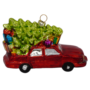 Christmas Tree Delivery Christmas Ornament