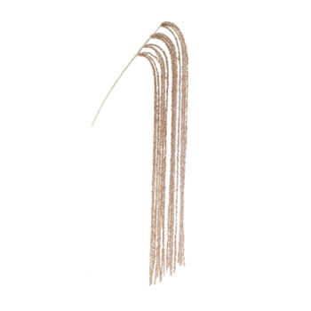 Champagne Glitter Cascading Branch