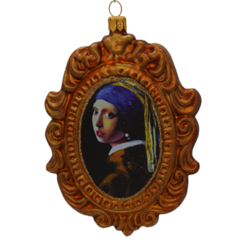 Girl with Pearl Earring Christmas Ornament