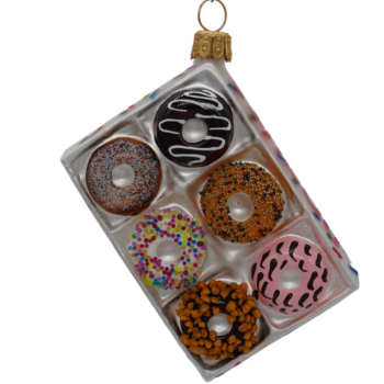 Box of Donuts Christmas Ornament