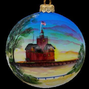 Holland Lighthouse Christmas Ornament