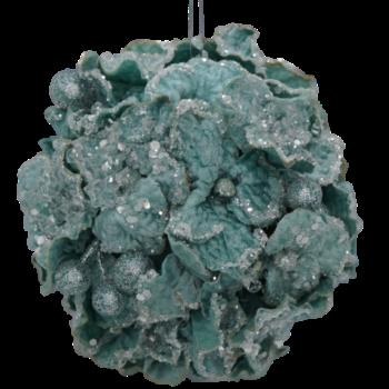 Icy Blue Hydrangea Ball