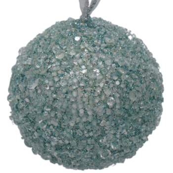 Icy Blue Christmas Ornament