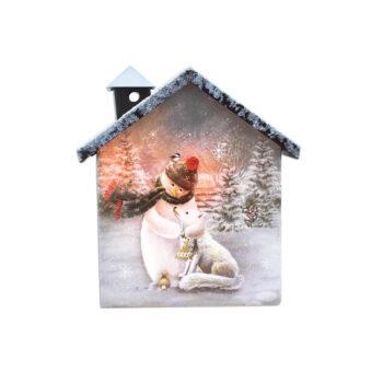 Stony Creek Soft Winter Lighted House