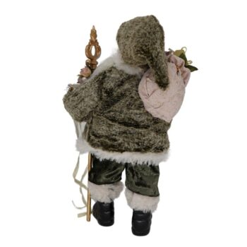 Victorian Santa Christmas Figure, 18 inches tall