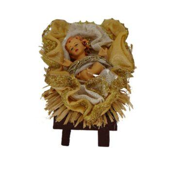 Beige and Gold Baby Jesus