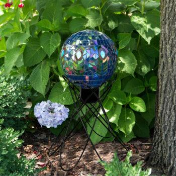 Orbital Gazing Globe Stand, 10 inches tall