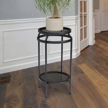 New Age Two Shelf Plant Stand