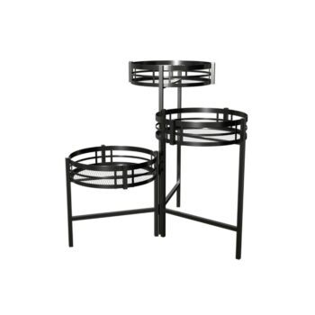 Three Tier Mission Plant Stand, 21 inch