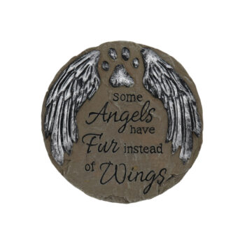 Angels Have Fur Stepping Stone, 5 inches