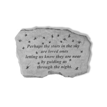 Stars in the Sky Memorial Stone, 16 inches