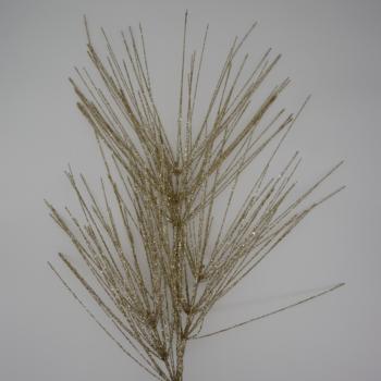 Gold Glitter Large Needle Pine