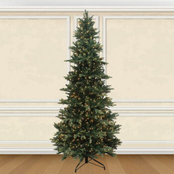 Pre-lit Deluxe Layered Fraser Fir Artificial Christmas Trees