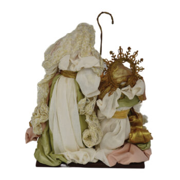 Nativity Scene in Beige and Sage