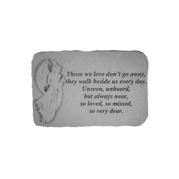Those We Love Angel Memorial Stone, 15.25 inches