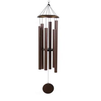 Corinthian Bells Copper Windchime, 53 inches