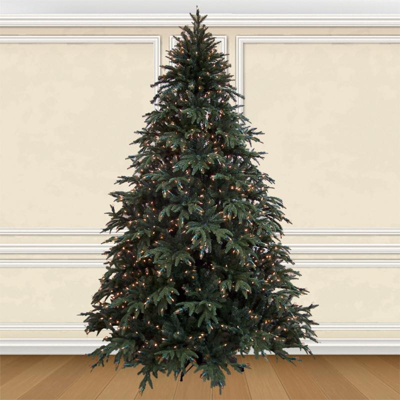 Pre-lit Deluxe Highland Fir Artificial Christmas Trees