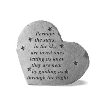 Stars In The Sky Memorial Stone, 8.5 inches