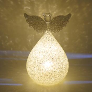 LED Angel Christmas Ornament