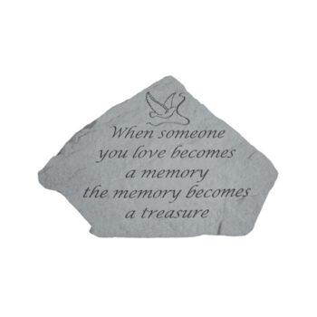 Treasure Memorial Stone, 11x8 inches