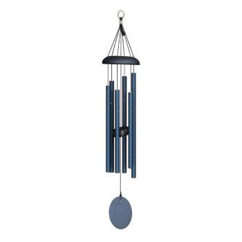 Corinthian Bells Midnight Blue Windchime, 27 inches