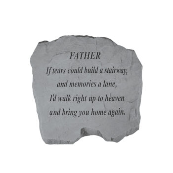 Father Memorial Stone, 16 inches