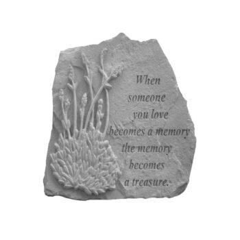 Treasure Memorial Stone, 10 inches