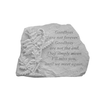 I'll Miss You Memorial Stone, 10 inches