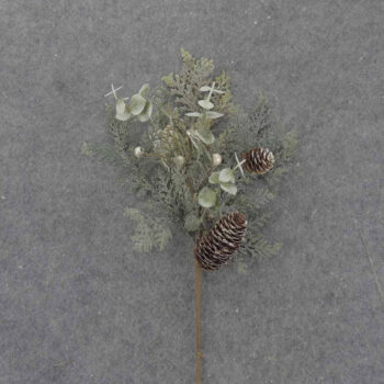 Frosted Cedar Eucalyptus Branch