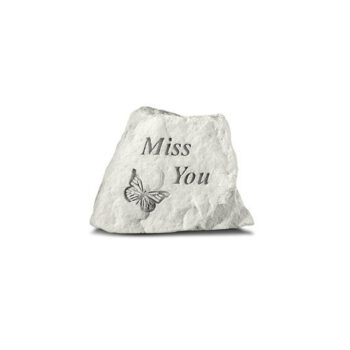 Miss You Memorial Stone, 3.5 inches