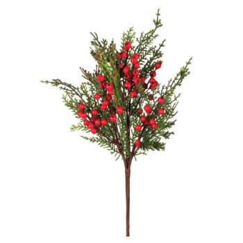 Berry Incense Cedar Branch