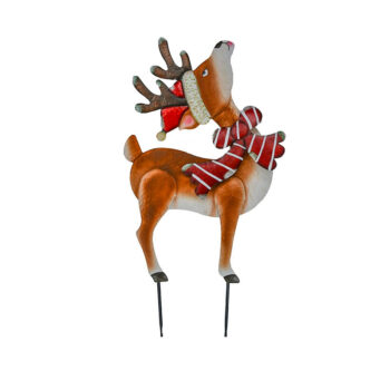 Christmas Deer Yard Stake