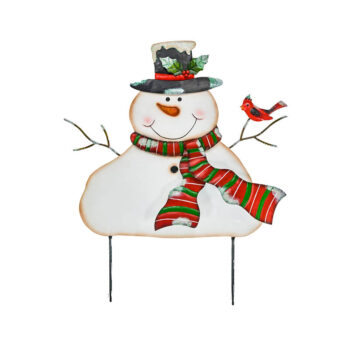 Snowman Yard Stake
