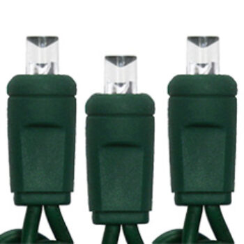20 Light Battery-operated Set with Timer and 5MM Wide Angle Lens LED Bulbs